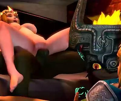 Ganondorf Fucks Zelda