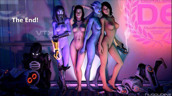 Mass Effect Girls Sexy Gifs..