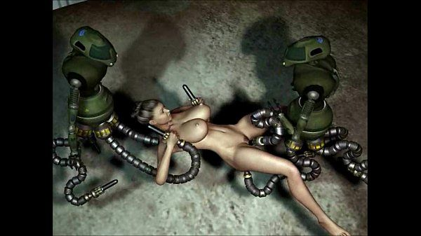 3D Animation: Robots Sex..