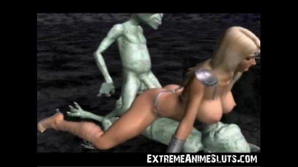 Aliens Bang a 3D Princess! -..