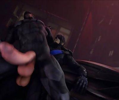 Batman Fucked By Nightwing