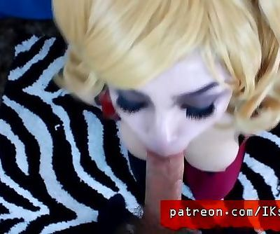 Horny Harley Head!!!!! Cosplay