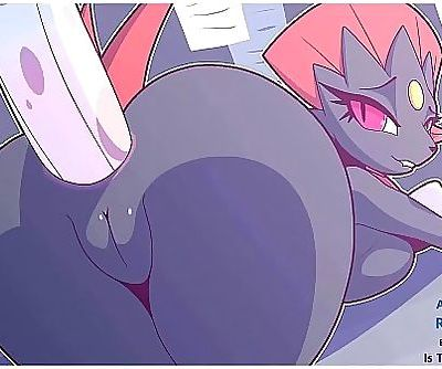 Weavile takes it up her ass!..