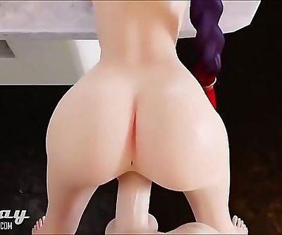 3D Hentai Overwatch girls..